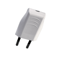 TWO PIN PLUG 6A WHITE