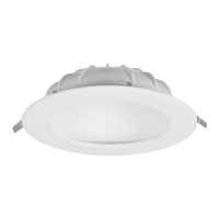 INDIRECT LED DOWNLIGHT 12W 230V 4000K D150mm