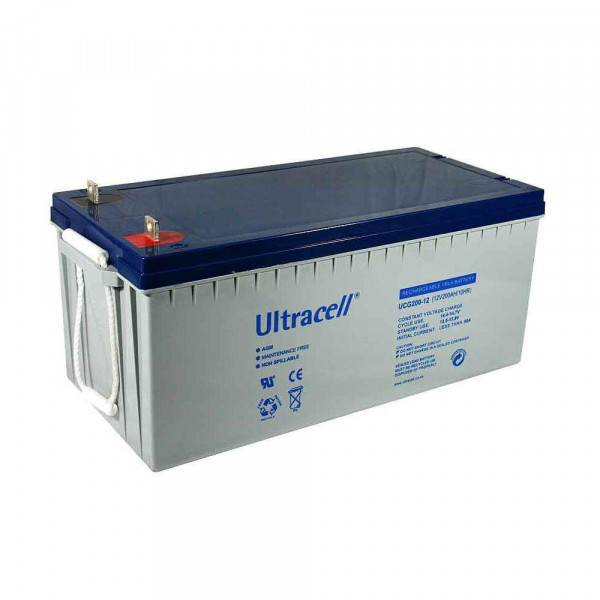 RECHARGEABLE VRLA BATTERY 250Ah 12V