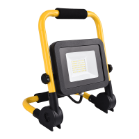 LED FLOODLIGHT WITH STAND AND PLUG 30W 5500K