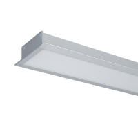 ULTRA THIN LED PROFILE RECESSED S36 18W 4000K GREY