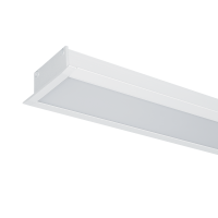 HIGH POWER LED PROFILE RECESSED S48 20W 4000K WHITE