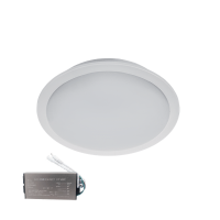 VÍZÁLLÓ LED PANEL KEREK 5W 4000K IP65+INVERTERREL