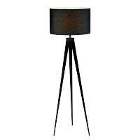 TOMY FLOOR LAMP 1XE27 DARK GREY D400XH1550mm