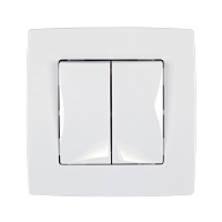 CITY CURTAIN SWITCH WHITE, METTALIC